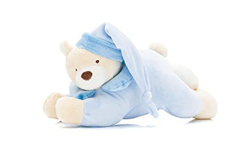 Fillikid Plüschtier mit Spieluhr Bär Exclusiv | geeignet ab 0 Monaten | Plüschtier mit integrierter Spieluhr | kuscheliges Stofftier Bär für Jungen und Mädchen | Größe: ca. 29 cm