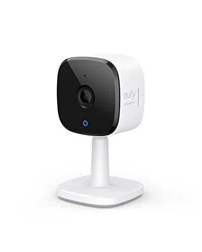 eufy Security Solo IndoorCam C22, 1080P Indoor Cam Überwachungskamera für Innenbereiche, IP Kamera mit WLAN, Personenerkennung, Sprachassistent, Nachtsicht, beidseitige Audiofunktion