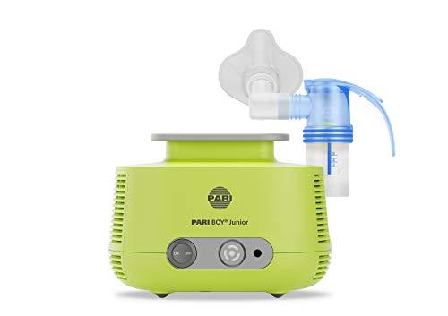 Pari 130G1300 Boy Junior, Inhalationsgerät zur Behandlung von Atemwegserkrankungen, für Kleinkinder und Babys ab 1 Monat