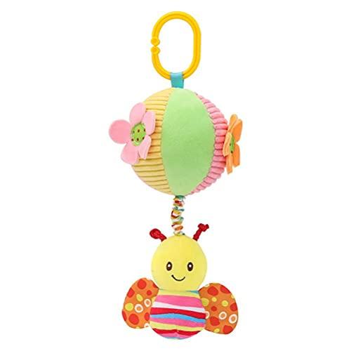 Babyspielzeug, Kinderwagen Autositz Krippe Spielzeug Babyspielzeug 0-6 Monate Weiches Hängendes Plüschtier Tragbares Baby Musikalische Glocke Stoffball Spielzeug Neugeborene Geburtstagsgeschenke
