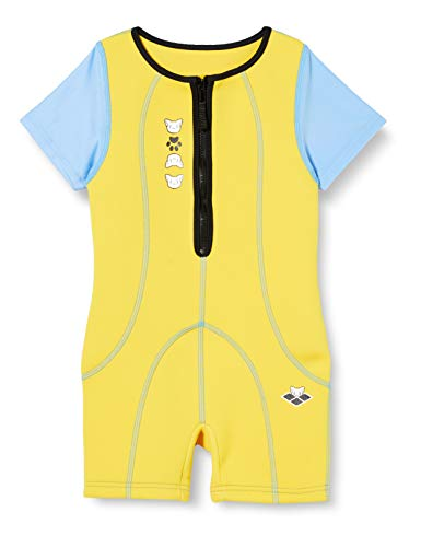 Arena Unisex– Baby Friends WARMSUIT Neoprenanzug, Yellow, 7-8A