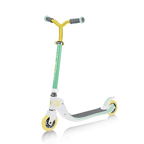 LUQ Scooter Rollen Kinderroller 2- Radhöhe einstellbar Faltbarer Anti-Rutsch-Terrassendurchstoß- Roller for Erwachsene und Teenager Roller Scooter (Color : Green)
