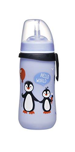 nip Strohhalmbecher Straw Cup, 12 Monate, 330 ml, Pinguin