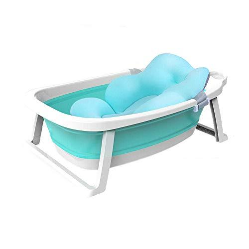 Babify Lagoon faltbare Badewanne für Babys mit Kissen Kompakt zusammenklappbar – Kissen im Lieferumfang enthalten