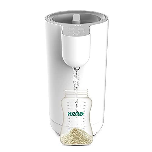 Neno® AQUA Flaschenzubereiter für Babys und Kleinkinder, Einstellbare Temperatur, Instant und automatischer Flaschenformulierer, Einfach, intuitiv und kompakt