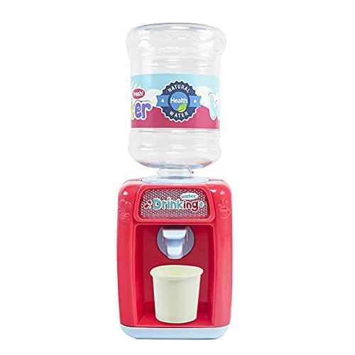 Mini Wasserspender Kinder Spielzeug, Simulation Wasserspender Matschküche Kinder Play House Dispenser Spielzeug Niedliches Getränke Spender Geschenke für Kleinkinder Mädchen Jungen ab 2 Jahre