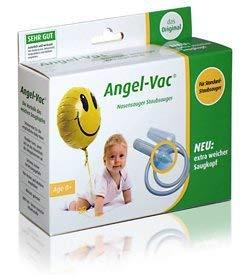Angel-Vac Nasensauger für Standard Staubsauger, Das Original, Baby Nasensauger, Mit extra weichem Saugkopf