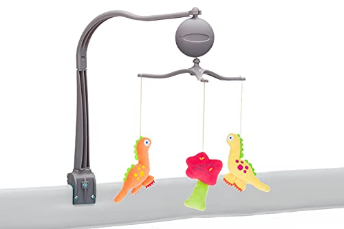 Fillikid Spieluhr & Mobile mit Spielfiguren und Musik   Kinderbett-Mobile   Babymobile mit Halter   Spieluhr für Babybett, Wiege, Stubenwagen, Laufgitter, Reisebett   für Babys, Jungen & Mädchen
