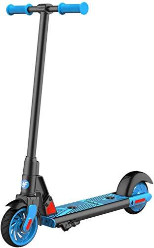 Elektro Scooter für Kinder, HOVERFLY GKS Elektro Kinderroller ab 6 bis 12 Jahren, Electric Roller 12 km/h, 6' Vollreifen, Kick-Start Boost für Kinder/Mädchen/Jungliche Frau, bis 55kg