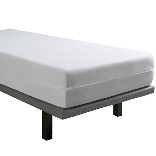 Tural - Extra elastischer und widerstandsfähiger Matratzenbezug. Reißverschluss. Kleine Kinderbettgröße 60x120 Baby