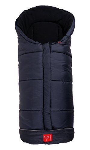 Kaiser Naturfelle 6570822 - Fußsack 'Iglu Thermo Fleece', Farbe: marine