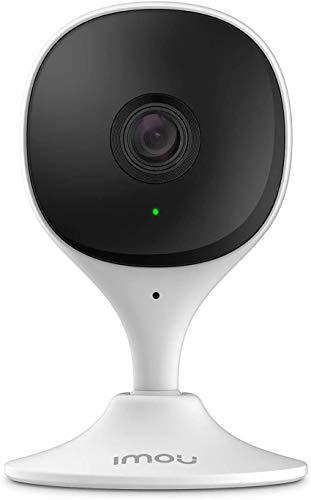 Imou 1080P Überwachungskamera Innen WLAN, Babycam Hundekamera mit 10m Nachtsicht, Geräuschmelder, KI-Personenerkennung, Kompatibel mit Alexa (CUE 2C)