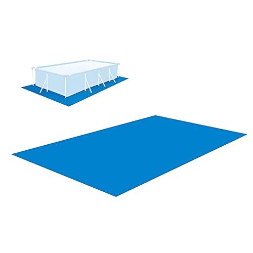 fllyiingu Pool Bodenplane 250x340cm Pool Grundtuch Bodenmatte Schwimmbecken Matte Faltbare wasserdichte Pflegeleichte Matte für Schwimmbäder, Hüpfburgen, Planschbecken