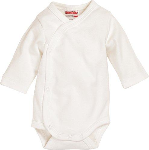 Schnizler Baby-Unisex Wickelbody Basic Body, Beige (Natur 2), Frühchen (Herstellergröße: 44)