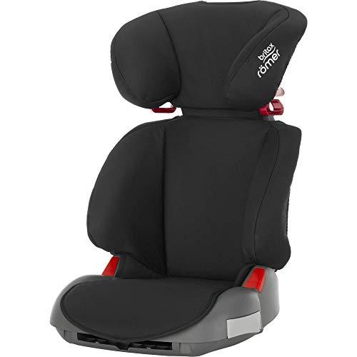 BRITAX RÖMER Kindersitz 15-36 kg ADVENTURE, hohe Rückenlehne und Seitenaufprallschutz für Kinder (Gruppe 2/3), 3,5 bis 12 Jahre, Cosmos Black