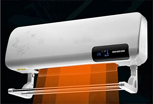 UltraNurtureest Wandmontierte Terrasse Heizung, elektrische Schnellheizung Automatische Konstante Temperatur Infrarot Fernbedienung Geräuschmäßiger Geräusch Mehrfacher Schutz