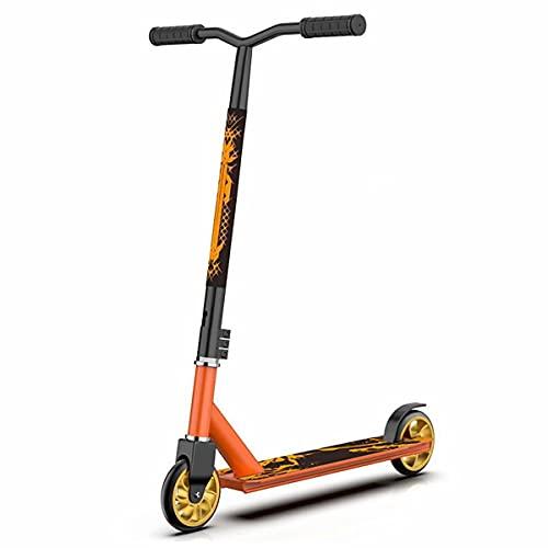 Stunt Scooter Kinder Freestyle Pro Trick Roller für Erwachsene, Stunt Roller,Trick Roller, Stunt Scooters mit 110mm PU-Räder und ABEC-7 Kugellagern, Tretroller Roller für Anfänger ab 8 Jahre