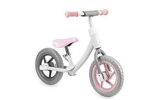 MOMI Ross Kinderlaufrad für Mädchen und Jungs | Pannensichere Räder aus Schaumsstoff | Stabiler Metallrahmen | Regulierbare Sattelhöhe und Lenkerhöhe mit Quick Realease, Gewicht 3 kg