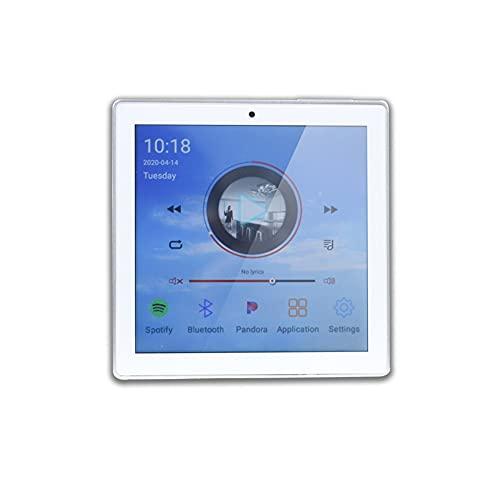 SXYLTNX Touchscreen WiFi Audio Wandpaneel Verstärker Smart Home Theater Kino Bluetooth Wireless Music System USB (Color : A)