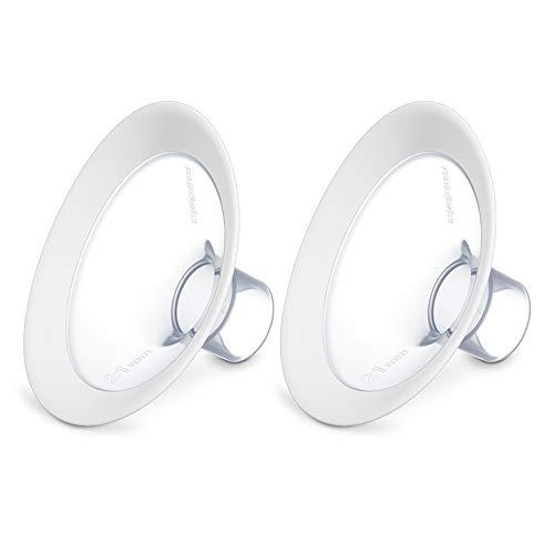 Medela PersonalFit Flex Brusthauben, innovative Flex Technologie für mehr Milch und Komfort, 2 Stück, Gr. L, 27mm