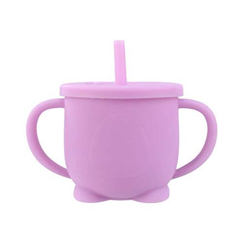 N-B 2 Griffe für Baby-, GEH- und Kinderernährung, kein BPA, 2 auslaufsichere Silikonstrohhalme, Coach-Strohbecher