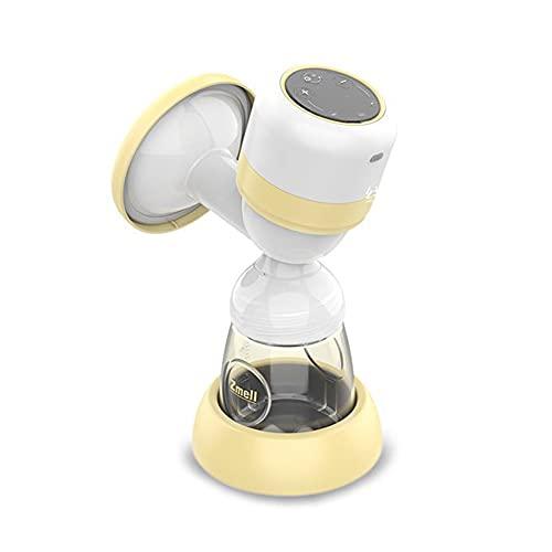 HYFDGV Elektrische Milchpumpe Stillpumpe tragbare Brustpumpen wiederaufladbare Milchpumpe Berühren Sie Brustmilchsauger, Brustmassage Elektrische Milchpumpe