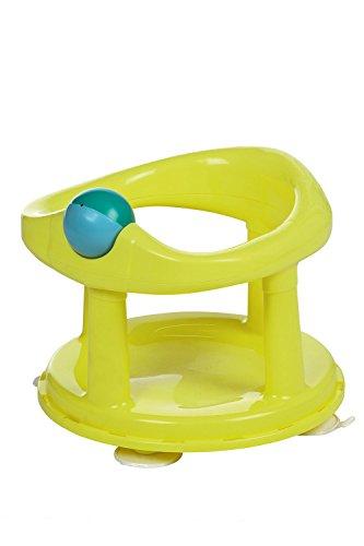 Safety 1st 360° Drehbarer Badesitz, Ergonomischer Sitz für die Badewanne mit Rollball und 4 Saugnäpfen, Nutzbar ab ca. 6 Monaten bis max. 10 kg, Lime (grün)