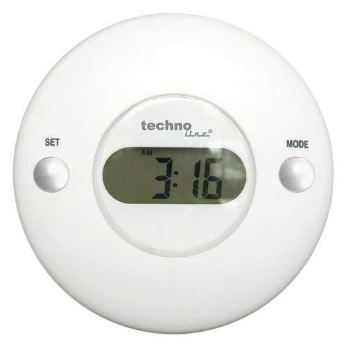 Technoline Wetterstation WS 9003 nutzbar als Pool- / Badewannenthermometer oder mit Saugnapf als Fensterthermometer