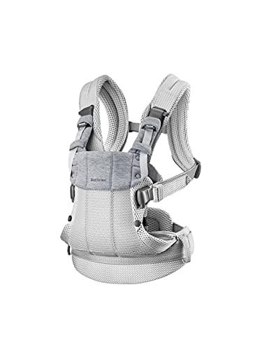 BABYBJÖRN Baby Carrier Harmony, 3D Mesh, Silver