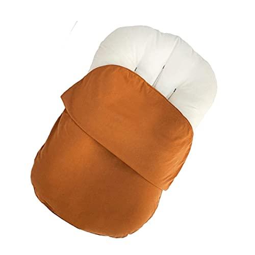 Jingmei Schnittmuster Babynest, Leicht zu tragen Reisebett mit Stillkissen - Weich atmungsaktiv zum Nickerchen und Schlafen BesBet