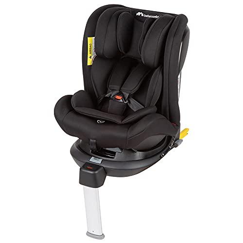 Bébé Confort Confort EvolveFix Kindersitz, mitwachsender Gruppe 1/2/3 Autositz mit ISOFIX, um 360Degree drehbarer Kinderautositz, nutzbar ab der Geburt bis ca. 12 Jahren, 0–36 kg, Night Black