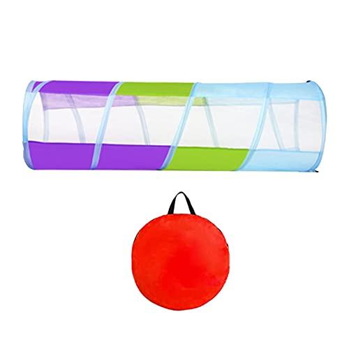 Spieltunnel für Kinder, Pop-Up-Krabbel-Tunnel, Spielzelt für Kinder oder Hunde, Spielzeug oder Geschenk für drinnen und draußen