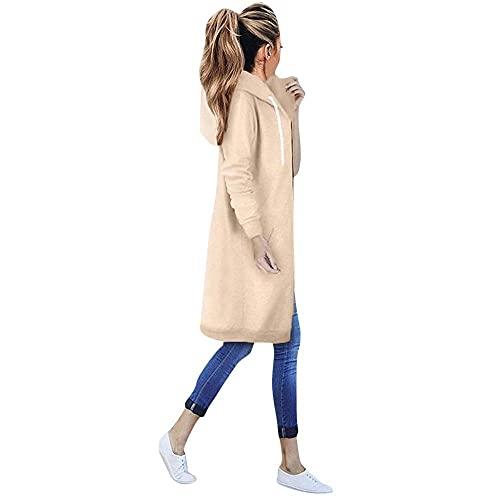 Bolonwzi Parka Jackets For Damenmode Trainingsjacke Winddicht Warm Winter Jacket Zip Up Regenjacken leichte Übergangsjacke