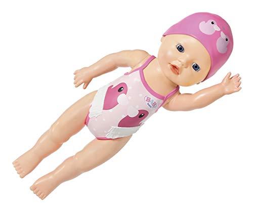 Zapf Creation 829738 BABY born My First Swim Girl Puppe für das Wasser 30 cm, Online Verpackung