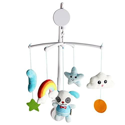 Baby Bettglocke Spielzeug Mobile Hängende Bettglocke Rotierende Krippe Kinderwagen Plüsch Hängende Rassel Monate Neugeborenes Lernspielzeug Puppe Geschenke