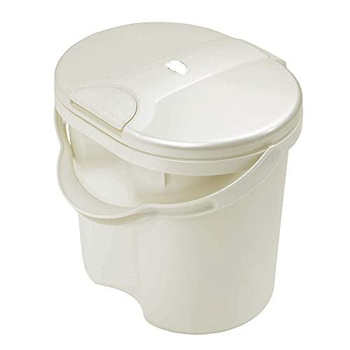 Baby Geruchsdichter Windeleimer, WIndelentsorgungssystem mit Deckel und Tragegriff, für normale Müllbeutel, 11L