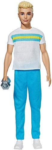 Barbie GRB43 - Ken 60. Jubiläum Great Shape Puppe von 1984, für Sammler und Kinder ab 3 Jahren