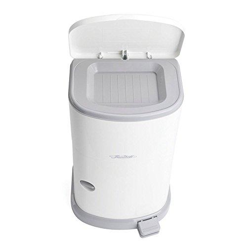 Windeleimer JANIBELL Akord SLIM, 26 Liter | Windel-Eimer für Erwachsene | Diskretes Windel-Entsorgungs-System | Entsorgung Inkontinenz-Material