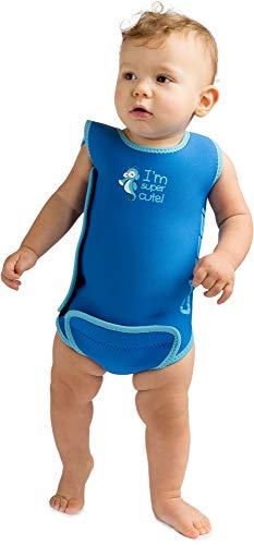 Cressi Infant Baby Warmer - Kinder Neopren Schwimmanzug, Blau, 12/18 Monate