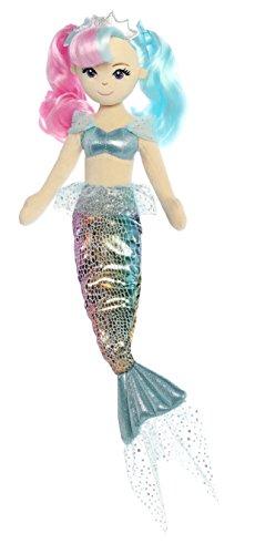 Aurora World 33233 Sea Sparkles Pastellmeer Plüsch, 46 cm, Lily