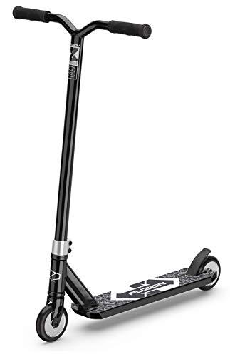 Fuzion X-3 Stunt Scooter -Stunt Roller - Trick Roller Für Kinder (SCHWARZ/Black)