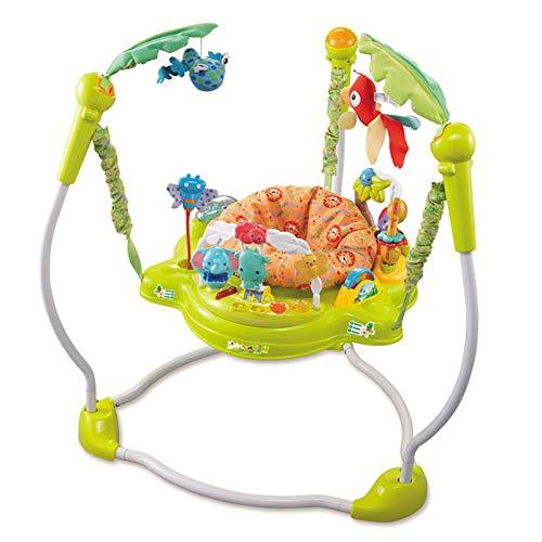 Lauflernhilfe Rebound Awakening Area 360 Grad drehbarer Sitz, der Baby fünf Spielzeugräume gibt, Musik und Lichter