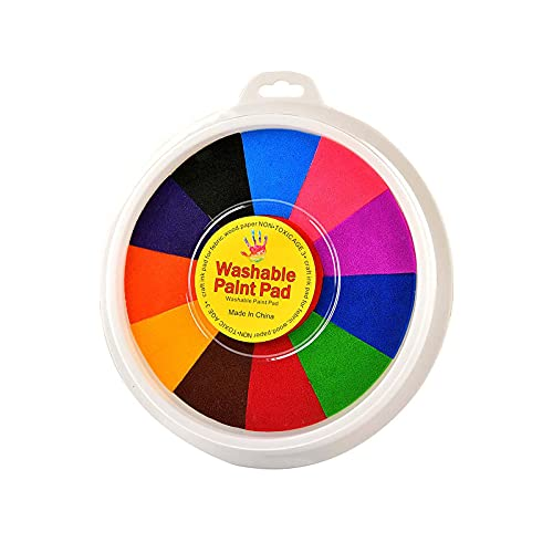 FOTBIMK 12 Farben Funny Finger Painting Kit Finger Drawing Toys Educational Tool Kit Mud Painting Kids Early Learning Toy