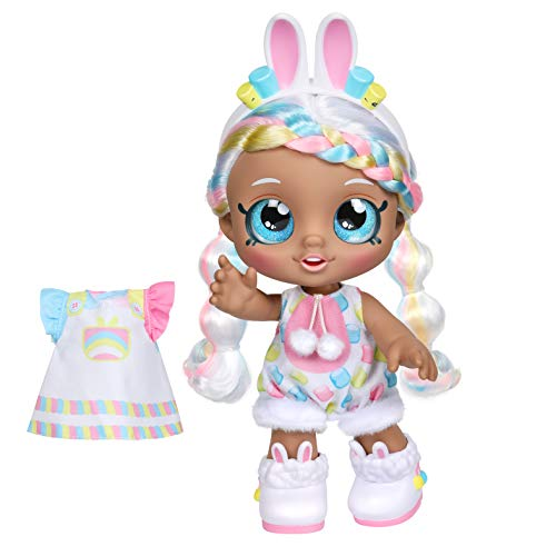 Kindi Kids Moose Toys LTD – 50064 Bunny Marsha Mello – Puppe, 25cm und 2 Outfit Accessories