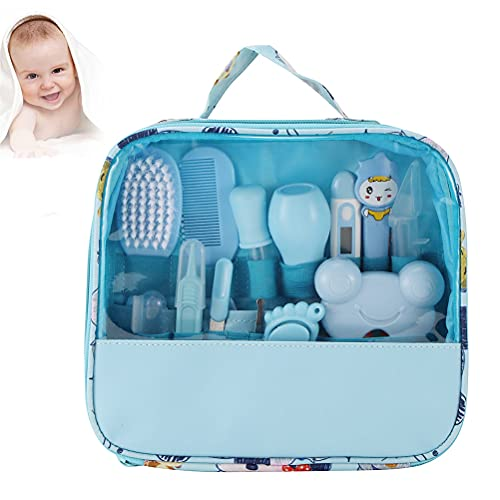 RALMALL 1 Set mit 13 Stück Neugeborenen-Pflegeset Baby-Pflegeset Basis-Gesundheitszubehör Geeignet für Zuhause und unterwegs
