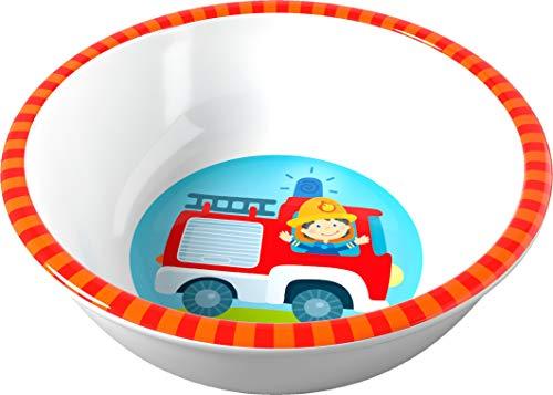 HABA Kinderschüssel mit Feuerwehrmotiv