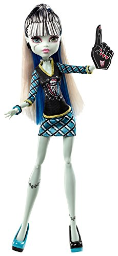 Mattel BDF08 - Monster High Monster-Fan Frankie Stein, Puppe