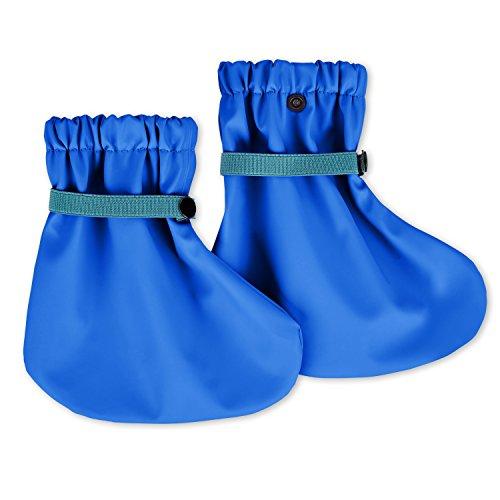 lovely lemon wasserdichte Regenfüßlinge in Blau für Jungs | Öko Tex Standard 100 | One Size für Babys und Kleinkinder | verschweißte Nähte | Waschbar bei 40° C