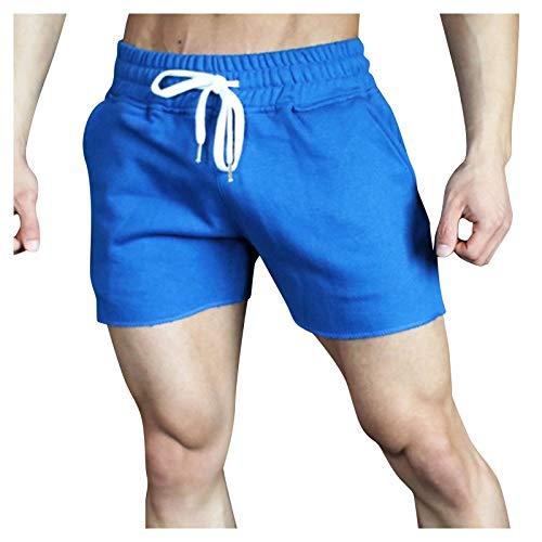 Herren Shorts Hosen Denim Hot Shorts Sommer Casual Pants Jogger Jeans Streetwear Sporthose Freizeithose Outdoorhose Trainingshose Wanderhose Fitness Bodybuilding Solide Taschen Strandhose