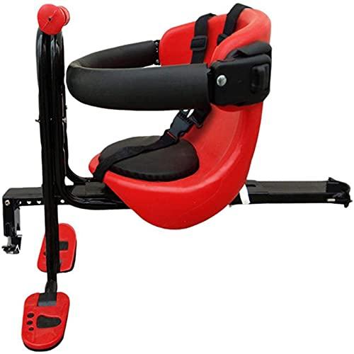 Massage-AED Fahrrad Kindersitz,Fahrrad Kindersitz, Kinder Kleinkind Kinder Kleinkind Frontmontage Kindersitz Fahrradträger Fahrradhalter Fahrradbefestigung Kinder